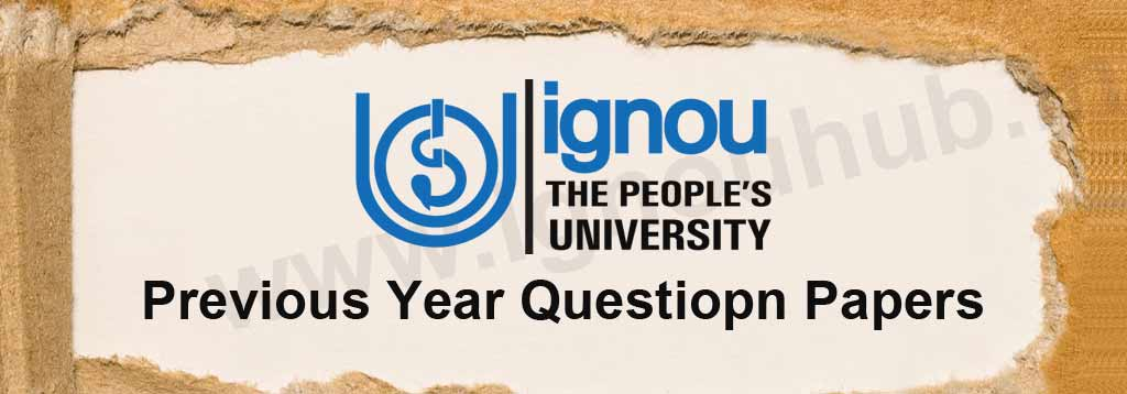 ignou previous question papers