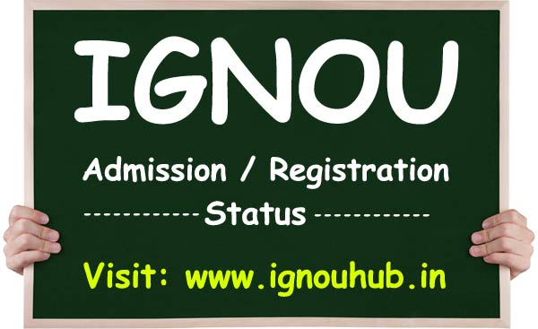 ignou admission status by name or enrollment no