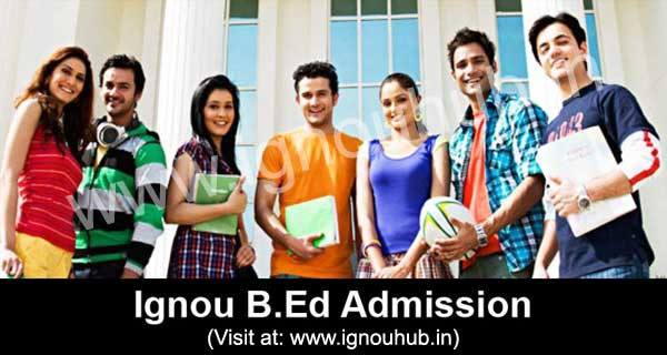 Ignou B.Ed Admission
