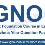 Ignou FEG 1 previous year question papers