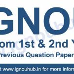 Ignou M.Com Question Papers