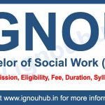 BSW from IGNOU (Bachelor of Social Work)