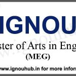 IGNOU MA English admission, eligibility, fee, duration, prospectus