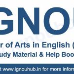 IGNOU MEG Books (MA English)
