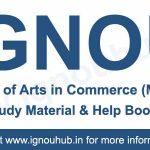 IGNOU M.Com Books & Study Material