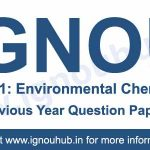 IGNOU AEC 1 Previous Question Papers