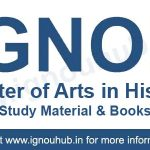 ignou ma history book & study material