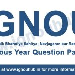 Ignou EHD 5 previous year question papers
