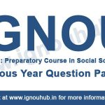 IGNOU OSS 101 previous question papers
