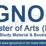 IGNOU MA Books free Download