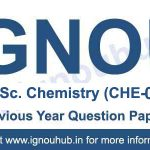 CHE 05 Question Paper