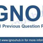 IGNOU EPS 11 Question Paper