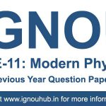 PHE 11 Question paper Last 10 Years