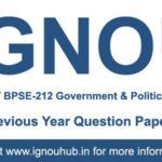 IGNOU EPS 12 Question Paper