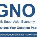 IGNOU EPS 15 Question Paper