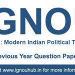 IGNOU EPS 3 Question Paper