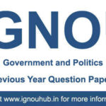 IGNOU EPS 6 Question Papers