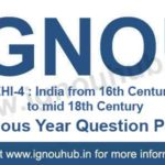 IGNOU EHI 4 Question Paper