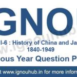 IGNOU EHI 6 Question Paper