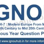 IGNOU EHI 7 Question Paper