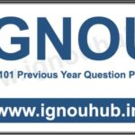 IGNOU OMT 101 Question paper of previous years