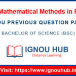 IGNOU PHE 4 Question Paper