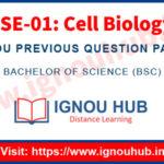 IGNOU LSE 1 Question Paper