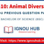 IGNOU LSE 10 question Paper