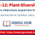 IGNOU LSE 12 Question Papers