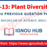 IGNOU LSE 13 Question Paper