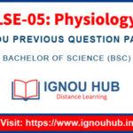 IGNOU LSE 5 Question Paper