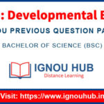IGNOU LSE 6 Question Paper