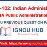 IGNOU BPAE 102 Question Paper