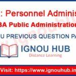IGNOU EPA 4 Question Paper
